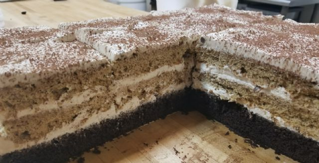 Choclate Tiramisu Bar
