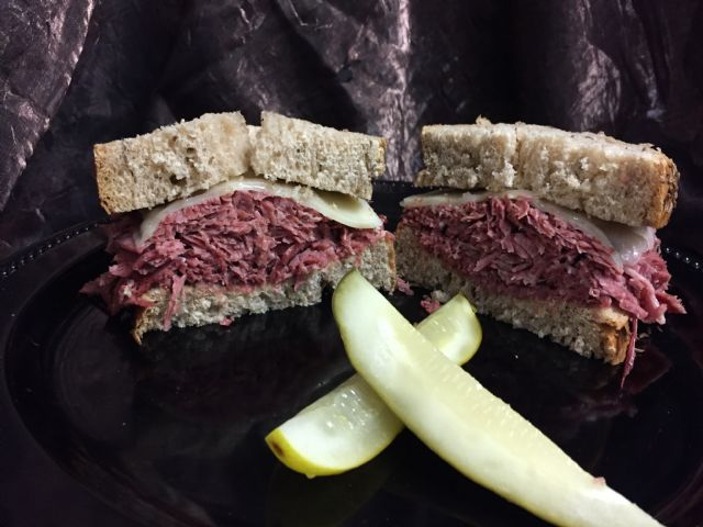 Hot Corned Beef Sandwiches