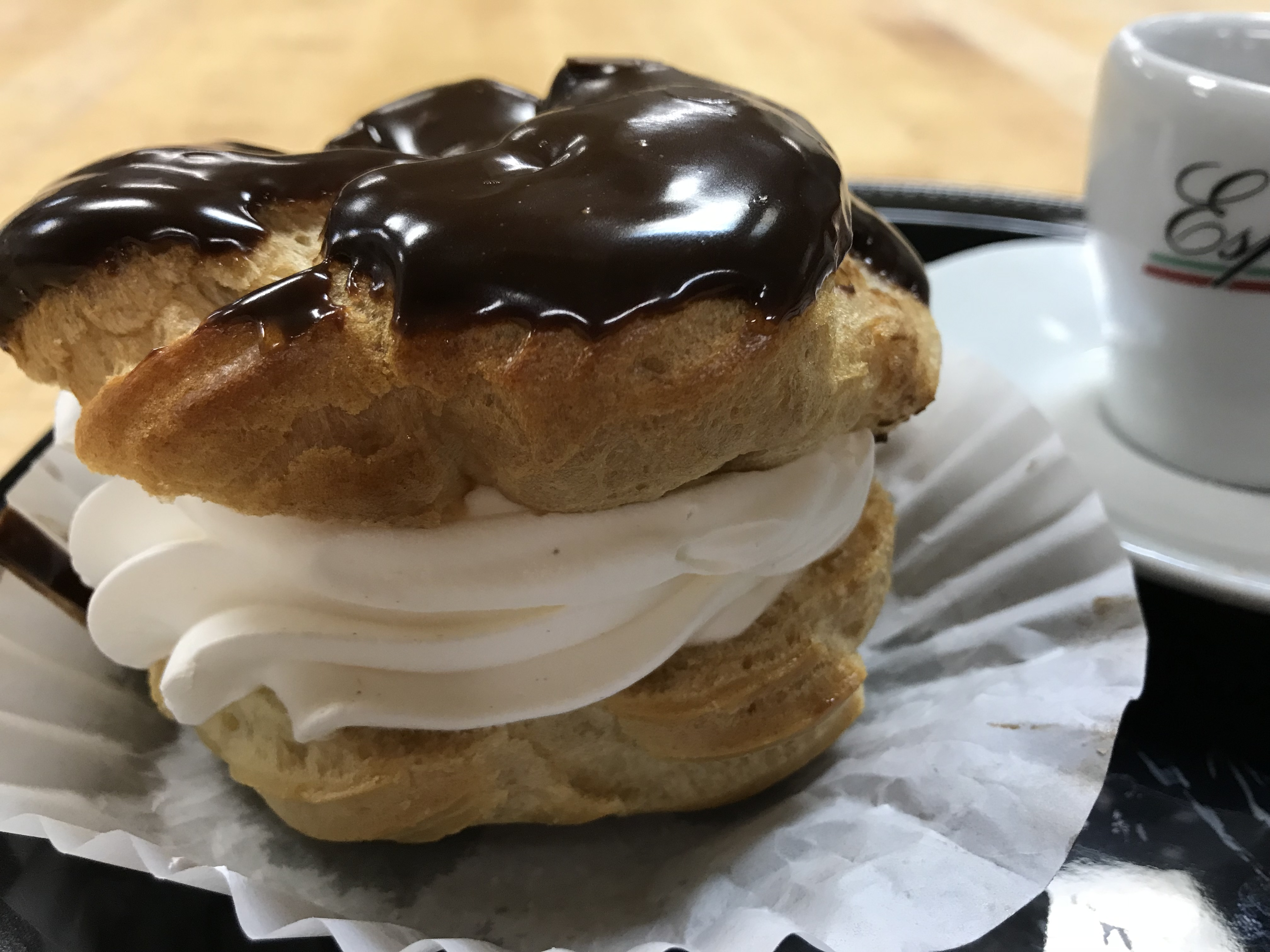 Cream Filled Pastry